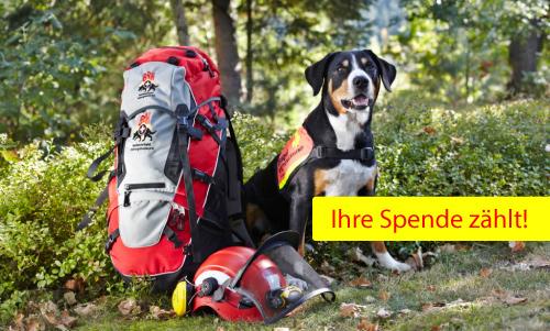 Spendenkonto RHS Rettungshundestaffel Unterland e.V.